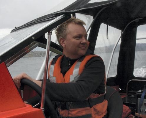 Maritime Robotics CEO Vegard Evjen Hovstein
